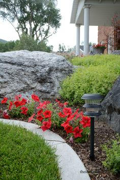 outdoor-lanterns from Lowes, $60/8pk  Check out how bright and the amount of light they give off