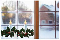 Girlande Glöckchen Fensterhänger Anhänger Weihnachten Adventsdeko Shabby Chic