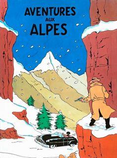 PARODIE Sorti en 1976, «Tintin en Suisse» est une parodie irrévérencieuse et obscène publiée en Belgique et interdite par la justice. Du coup, ses auteurs ont changé son titre en «Aventures aux Alpes»...