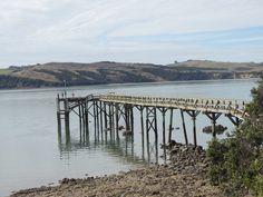 Tinopai Wharf -- Tinopai -- Kaipara Harbour -- Northland -- New Zealand  -- 2nd April 2013