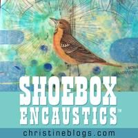 Summertime workshops in Austin, TX. Learn how to create great little encaustic collages with just one heat tool and cold wax sticks. June 17th or 19th. Shoebox Encaustics™: The Small Kit for Small Collages