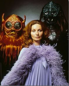 """Catherine Schell as Maya from the 70s UK TV series """"Space:1999"""" (before)"""