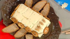 La ricetta della torta di formaggio alle noci di Luisanna Messeri del 6 febbraio 2014 - La prova del cuoco