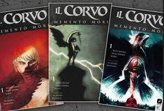 Edizioni BD annuncia Il Corvo: Memento Mori, una nuova miniserie in quattro numeri realizzata da autori e artisti italiani che debutterà il 21 marzo.