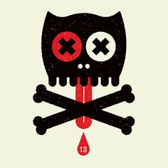 Creative Logo, Twibfy, Red, Cat, and Black image ideas & inspiration on Designspiration Cat Skull, Skull Art, Canvas Art Prints, Canvas Wall Art, Street Art, Fun Illustration, Illustrations, Black Image, Skull And Bones