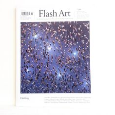 The #artofclubbing in @flashartmagazine #acidhouse #clubculture #annedevries cover
