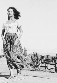 Jennifer Jones in Duel in the Sun, 1947
