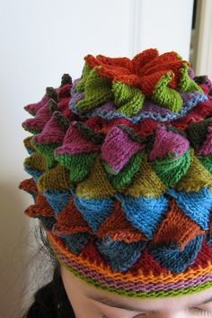 entertaining entrelac...