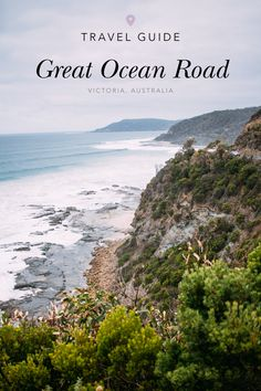 to the Great Ocean Road Your ultimate travel guide to the Great Ocean Road in Victoria, Australia - everything you must see + do!Your ultimate travel guide to the Great Ocean Road in Victoria, Australia - everything you must see + do! Australia Travel Guide, Visit Australia, Melbourne Australia, Australia Trip, Tourism In Australia, South Australia, Places To Travel, Places To See, Travel Destinations