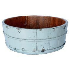 Found it at Wayfair - Round Basin Bucket in Aqua
