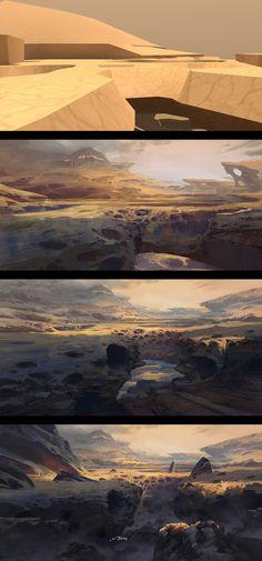 ArtStation - Trollhjem - Surface, Thomas Stoop