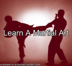 I'm in a kickboxing class right now. Hope to continue through until I earn my black belt !!