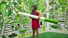 See Inside San Francisco's Colorful New Pop-Up Exhibit article Interactive Exhibition, Interactive Walls, Interactive Installation, Exhibition Booth, Museum Exhibition, Interactive Design, Installation Art, Interaktives Museum, Art Public