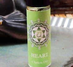 HEART CHAKRA OIL  Aromatherapy to Open Balance by ScentualGoddess
