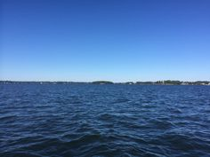 A perfect way to spend a Fall afternoon: gorgeous Lake Norman, NC!