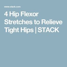 "Explore exercises For Tight Hip Flexors:Stretches for tight hips (hip flexers, t-band, sciatica) tight hips can be the reason for a lower belly ""pooch"" so do them! #Explorehip #Flexors #Exercises"