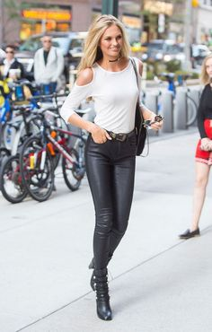 Victoria's Secret Model Street Style: See What the Beauties Wore to Show Fittings: Glamour waysify