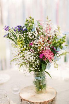 Florist: rose bredl flowers and garden - http://www.stylemepretty.com/portfolio/rose-bredl Photography: Lily Glass Photography - http://www.stylemepretty.com/portfolio/lily-glass-photography   Read More on SMP: http://www.stylemepretty.com/2013/10/04/backyard-picnic-wedding-from-lily-glass-photography/