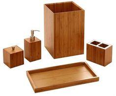 27 Best Bamboo Bathroom Accessories Images Bamboo Bathroom