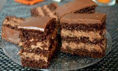 Nemrég lett kész, imádom :) Csak hagyni kéne a családnak is… :D Hungarian Desserts, Hungarian Recipes, Torte Cake, Cake Bars, Sweet Cookies, Cake Cookies, Cupcakes, Diabetic Bread, Cake Recipes