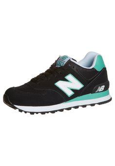 new balance wl574 - sneakers laag - zwart