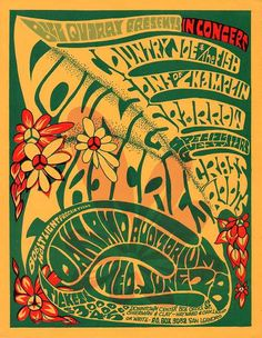 Country Joe and the Fish, Young Rascals, Grassroots, Oakland 1967