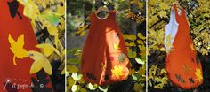Nid d'ange Colori autunnali Handmade in Italy by Atelier Faggi, baby sleeping bag with lovely autumn colors and appliques