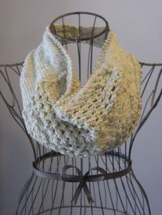 Cat's Eye Cowl Balls to the Walls Knits, A collection of free one- and two- skein knitting patterns