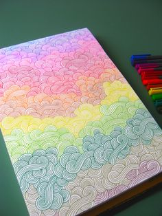 All sizes | rainbow doodles | Flickr - Photo Sharing!