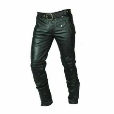 Men Real Cowhide Leather Quilted Panel Bikers Pant quilted trouser racing by ScanzaLeatherGear on Etsy Sheep Leather, Cowhide Leather, Black Leather, Vintage Leather Jacket, Leather Pants, Motorbike Jackets, Biker Pants, Uniform Shirts, Panel Quilts