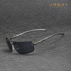 de211e154 JOGAL Polarized Sunglasses Men's Women Aviation Driver Shades Male Sun  Glasses For Summer. Óculos De Sol ...