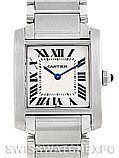 Cartier Tank Francaise Midsize Stainless Steel Watch