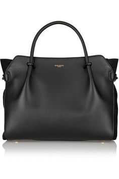 Nina Ricci | Marché leather and suede tote | NET-A-PORTER.COM