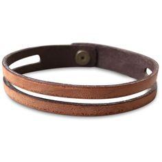 Diy Leather Bracelet, Bracelet Cuir, Leather Jewelry, Metal Jewelry, Geek Jewelry, Jewelry Necklaces, Gothic Jewelry, Jewellery, Bracelets For Men