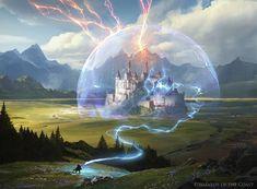 Wizard's Lightning - Wizard's Retort - Magic the Gathering, Greg Rutkowski ArtStation – Wizard's Lightning – Wizard's Retort – Magic the Gathering, Greg Rutkowski High Fantasy, Fantasy City, Fantasy Castle, Fantasy Places, Dark Fantasy Art, Medieval Fantasy, Fantasy World, Fantasy Concept Art, Fantasy Story