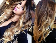 How to Do Ombre Hair at Home For Dark Hair ~ Newest Fashions