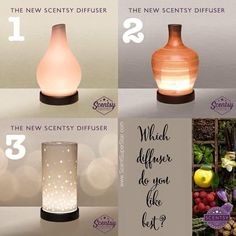 Scentsy's new oil diffuser!!! How amazing are these things!!! Which one would you choose for your home, office, or gift for a friend? Contact me to get yours ordered today!!! https://www.foreverscentsational.scentsy.us