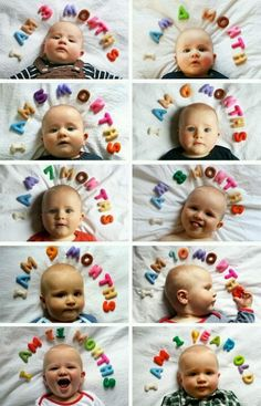 Baby monthly ideas