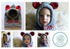 Knitting hat with ears :)