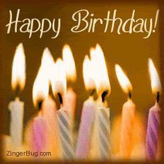 Happy Birthday to You! Happy Birthday to You! Happy Birthday to You! Happy Birthday Gif Images, Happy Birthday To You, Birthday Greetings For Facebook, Birthday Wishes Funny, Happy Birthday Candles, Happy Birthday Quotes, Birthday Gifs, 19th Birthday, Birthday Month
