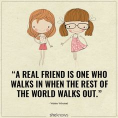 30 Beautiful quotes about the magic of friendship: A real friend