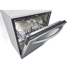 """LG 24"""" 42 dBA Steam Built-In Dishwasher in Stainless Steel (Energy Star Certified)"""