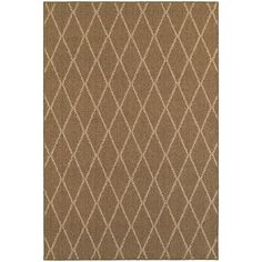 $126.75 Santa 090 N6 Brown/ Sand Area Rug