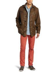 French Connection Men's Military Style Jacket