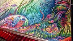 Johanna basford Lost Ocean by Rosana Penze