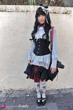 SHOKO (RURU) Harajuku, Tokyo Gothic Lolita AUTUMN 2013, GIRLS Kjeld Duits