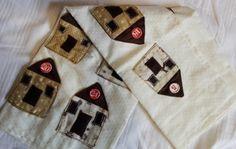 Adventskalender Häuser Usb Flash Drive, Damask, Hand Crafts, Gifts, Usb Drive