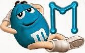 Alfabeto divertidas M and Ms. | Oh my Alfabetos!