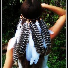Soaring Eagle Feather Headdress. Made with Love   Find it at : WWW. DIESELBOUTIQUE. ETSY. COM #Boho #Warrior #forestqueen #Featherheadband #Headband #pocahontas #freespirit #coachella #gypsylife #festivalfashion #grunge #gypsy #bohemian #bohochic #tribal #festival #bohemia #boholuxe #naturalbeauty #wanderlust #bohoblog #featherheaddress #goodvibes #highsociety #hippiestyle #earthspirit #hipster #hippie