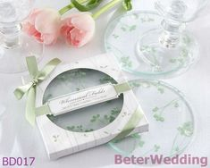 Aliexpress.com : Buy 9set Free Shipping Whimsical Fields Spring Leaf Coasters wedding gifts BD017 18pcs valentine gifts and love gifts wholesale from Reliable wedding gifts suppliers on Your Unique Wedding Favors $62.00